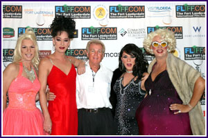 Key West Drag Queens and Robbie Hopcraft